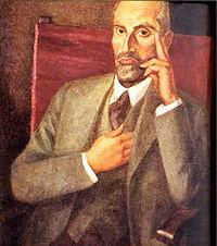Juan Ramón Jiménez por Daniel VázquezDíaz